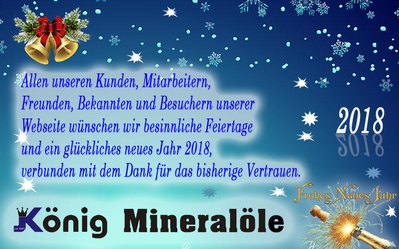 Frohes Fest und ein gesundes neues Jahr.
