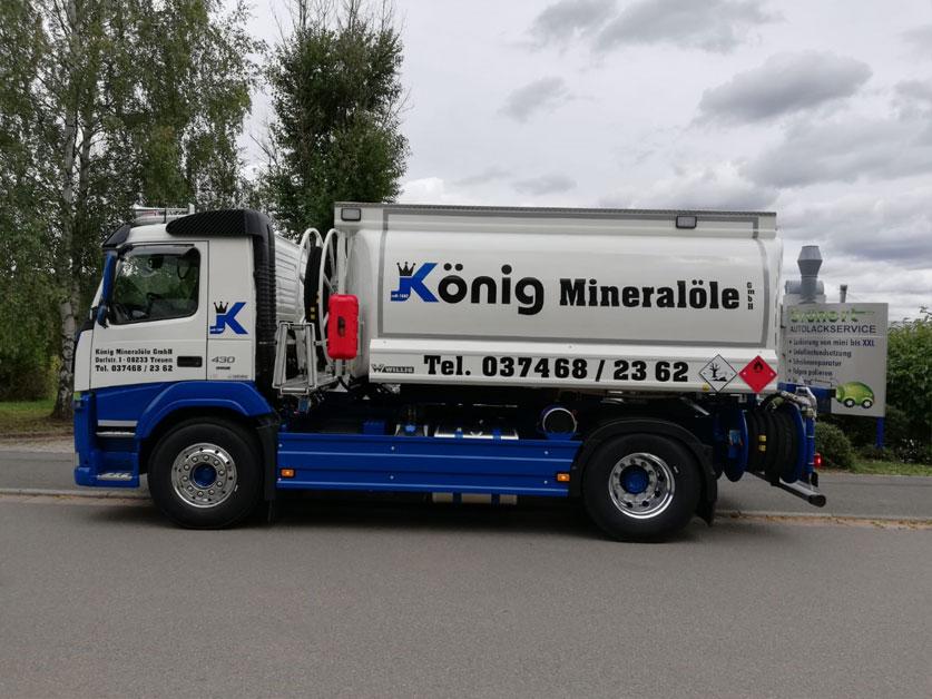 Tankwagen König