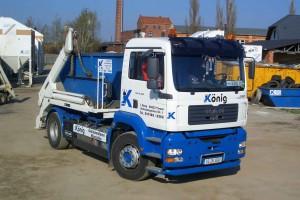 Containerfahrzeug König